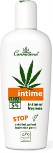 Intime emulsja do higieny intymnej, Cannaderm, 150ml