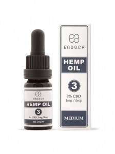 Olejek CBD 3%, Endoca, 10ml