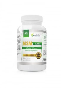 MSM, Wish, 250 tabletek