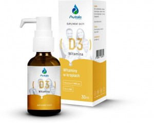 Witamina D3, Avitale, 30ml
