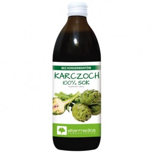 Karczoch Sok, AlterMedica, 500ml